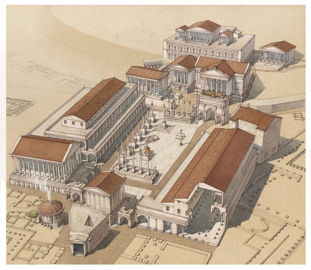 Atlante di Roma Antica, biografia e ritratti della città 10