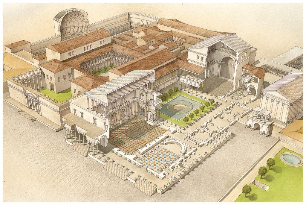 Atlante di Roma Antica, biografia e ritratti della città 20