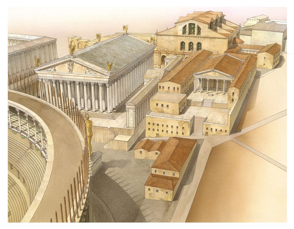 Atlante di Roma Antica, biografia e ritratti della città 5