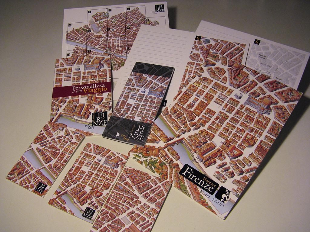 Mappa Monumentale di Firenze 1