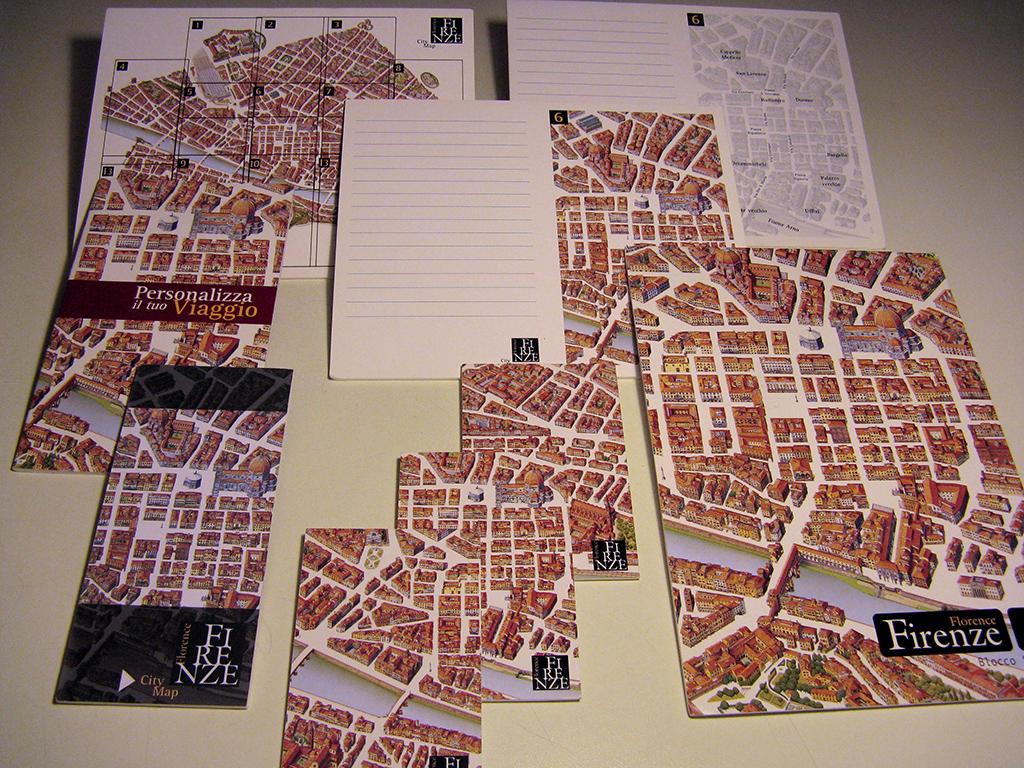 Mappa Monumentale di Firenze 2