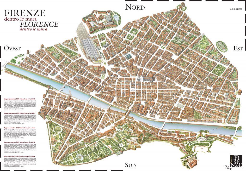 Mappa Monumentale di Firenze 3