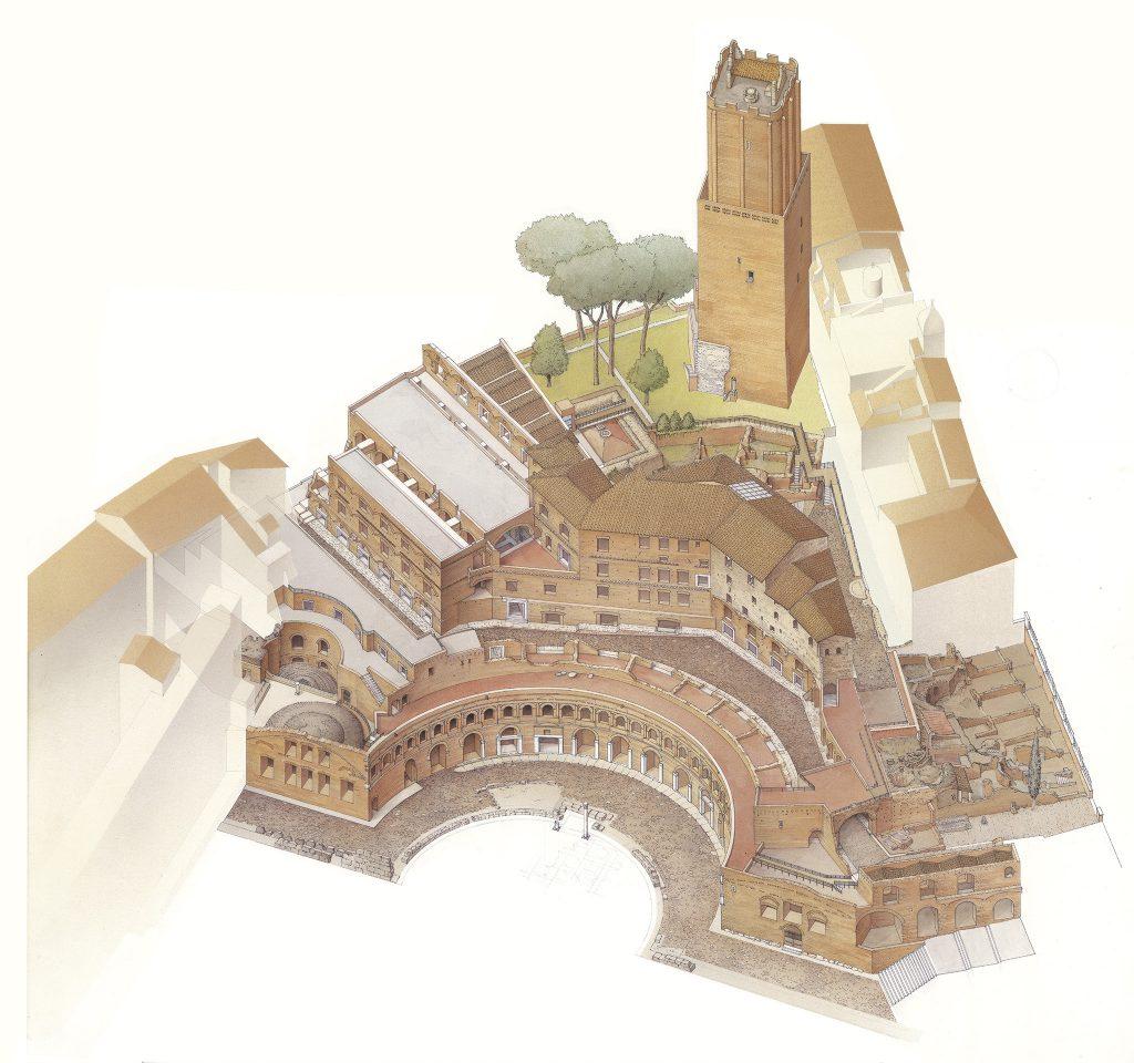 Il Museo dei Fori Imperiali nei Mercati di Traiano 8
