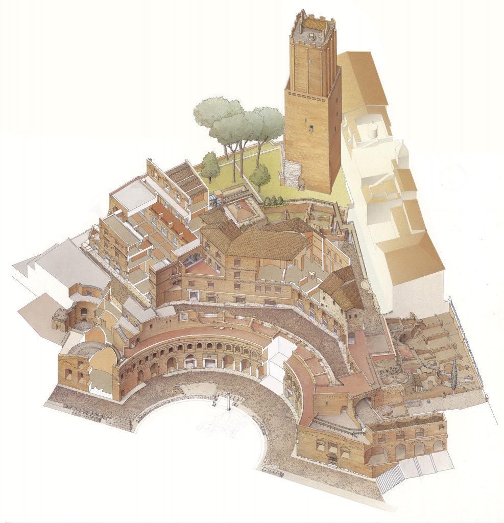 Il Museo dei Fori Imperiali nei Mercati di Traiano 9