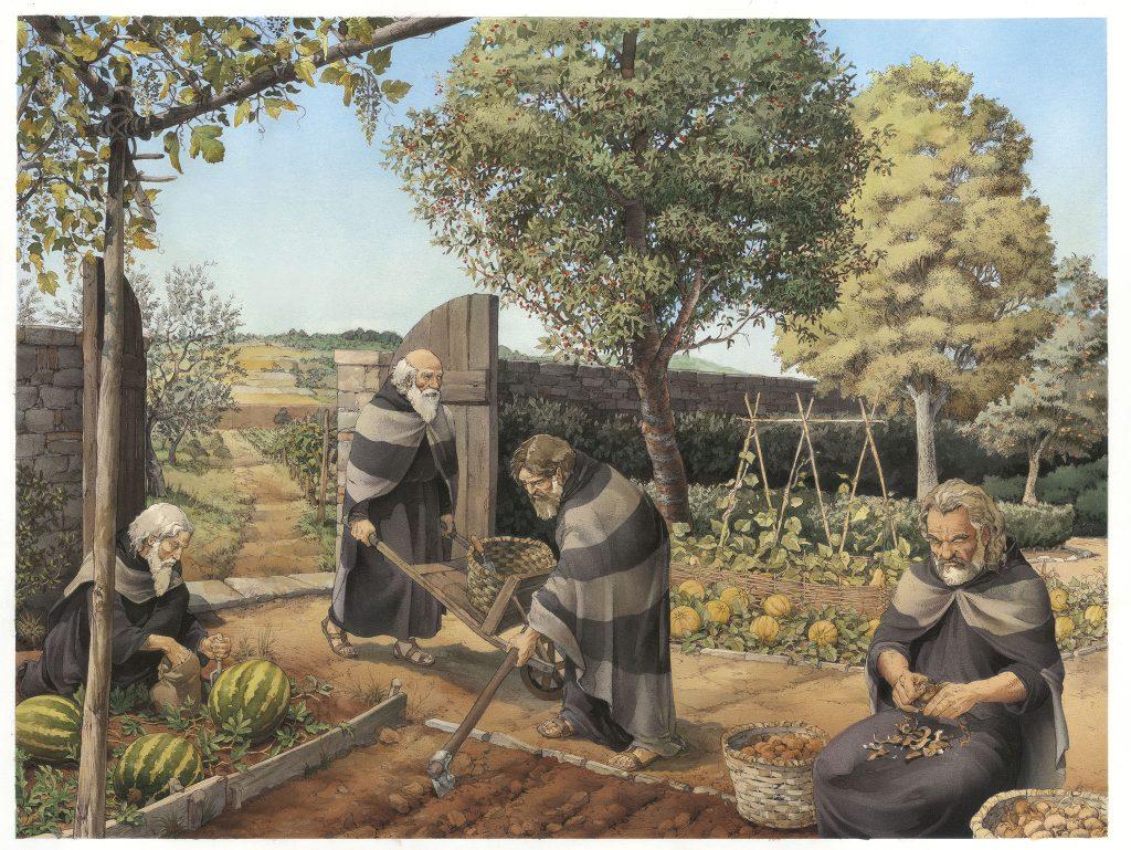 INKLINK_illustrazione_C-era-una-volta-Orto-Carmelitani