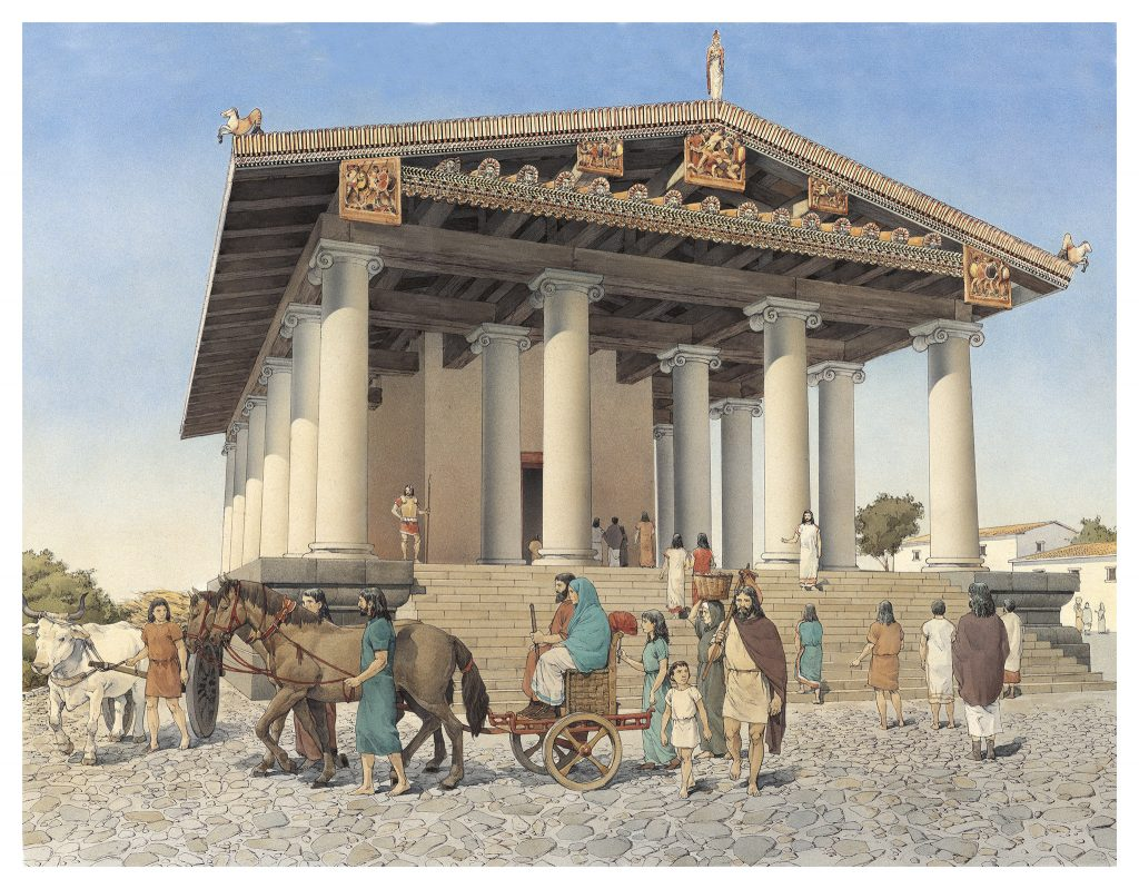 INKLINK_illustrazione_Vulci-tempio