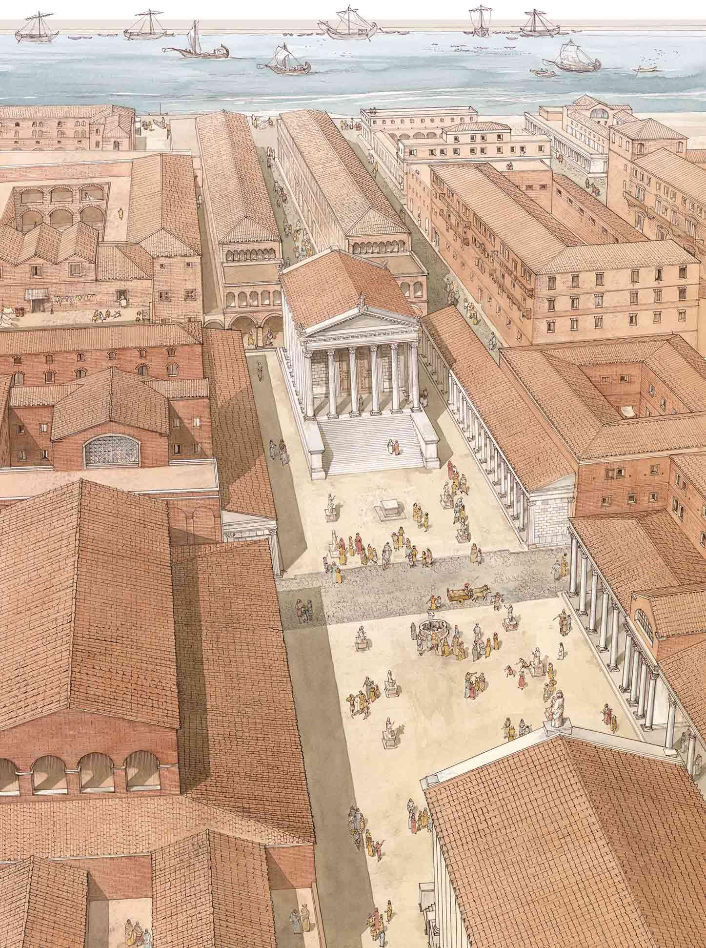Ostia Antica - Parco Archeologico 1