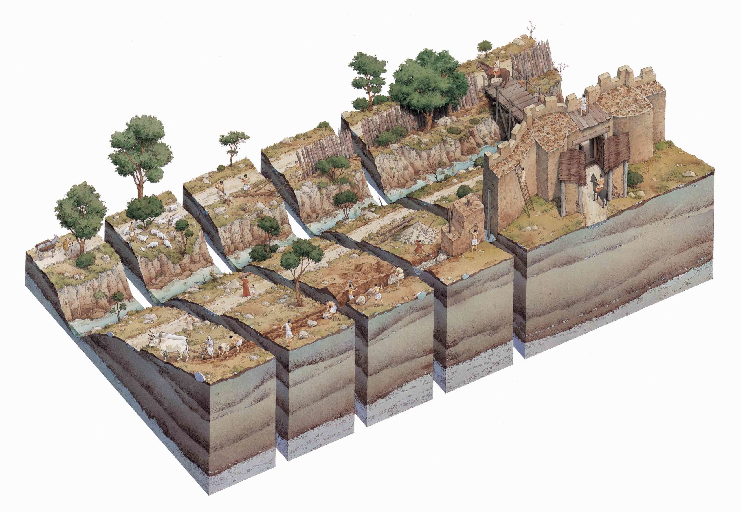 Rito-dellaratura-e-la-costruzione-delle-mura-palatine-inklink-musei-simone-boni