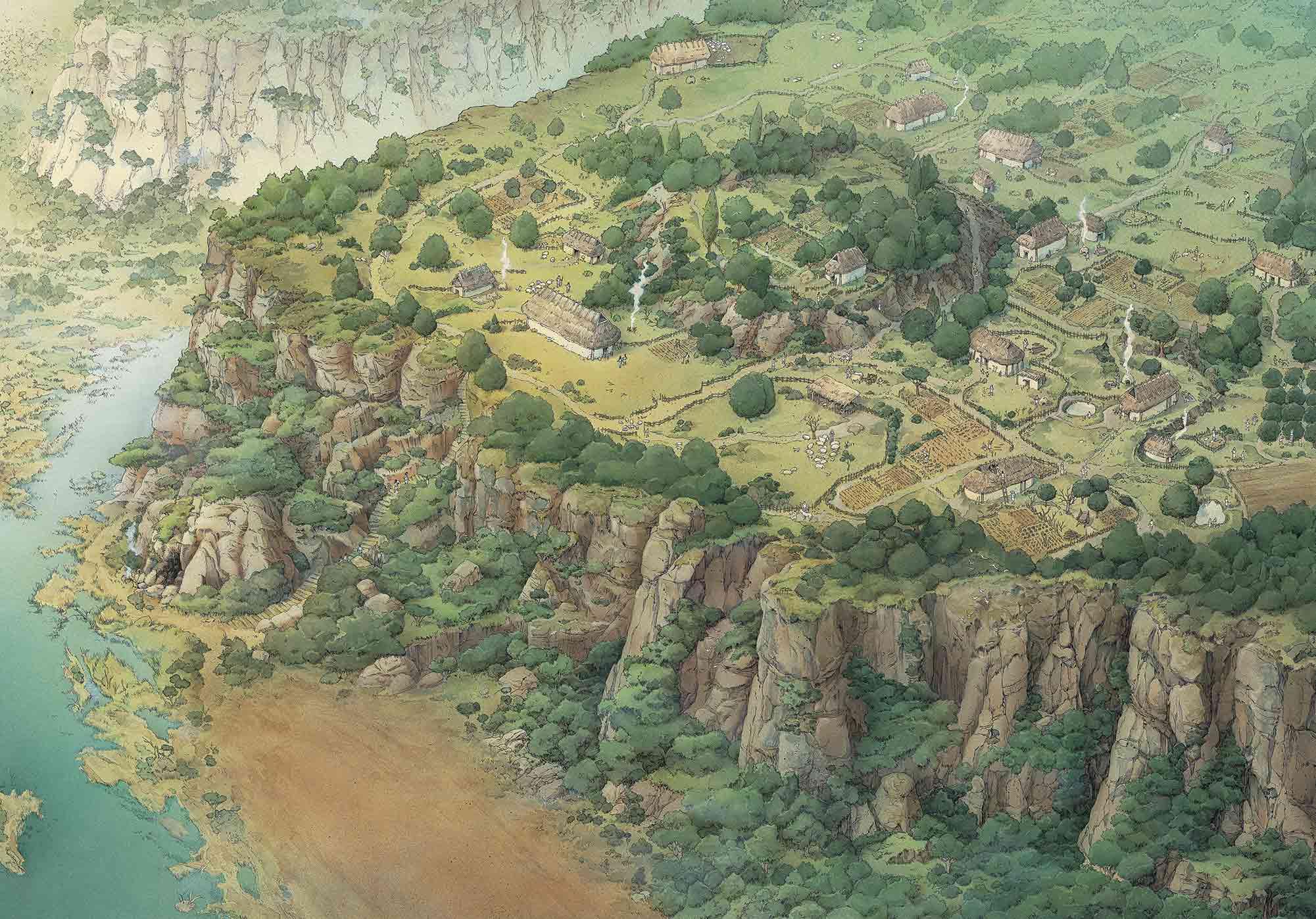 Insediamento-sul-Palatino-Versante-meridionale-inklink-musei-simone-boni